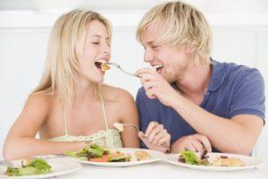 Правильное питание, ужин ПП, меню ПП